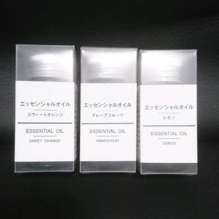 ムジルシリョウヒン(MUJI (無印良品))の無印良品 エッセンシャルオイル 3点セット(エッセンシャルオイル(精油))