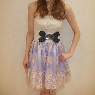 Language(ランゲージ)のLanguageドレス結婚式 レディースのフォーマル/ドレス(ミニ