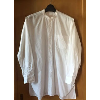 COMOLI - 7/18限定価格!17ss comoli  バンドカラーシャツ ホワイト コモリ