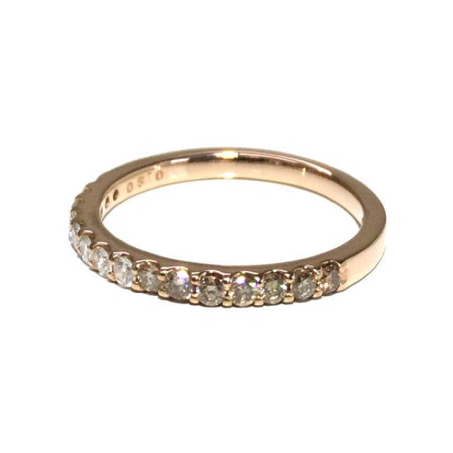 18金 K18 ピンクゴールド ダイヤ ダイヤモンド リング 指輪 エタニティ レディースのアクセサリー(リング(指輪))の商品写真