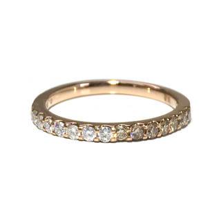 18金 K18 ピンクゴールド ダイヤ ダイヤモンド リング 指輪 エタニティ(リング(指輪))