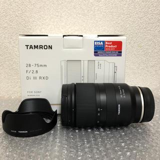 TAMRON - タムロン 28-75mm F/2.8 Di III RXD