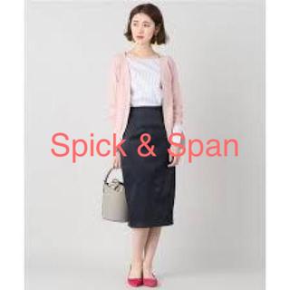 スピックアンドスパン(Spick and Span)のスピック&スパン ボタントップス ピンク(カットソー(半袖/袖なし))