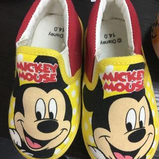 ディズニー(Disney)の[ディズニー] ミッキーマウス スリッポン(スリッポン)