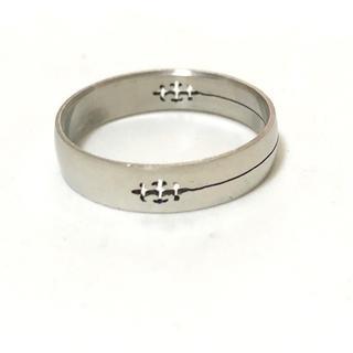 同時購入で300円 ステンレス指輪ゴシック(リング(指輪))