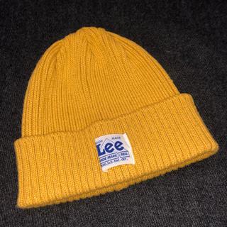 Lee - LEE(リー)ニット帽 黄色