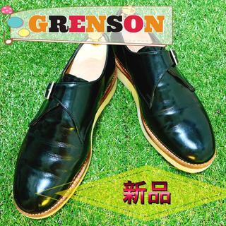 GRENSON グレンソン モンクストラップ ビジネスシューズ 革靴 美品 お得(ドレス/ビジネス)