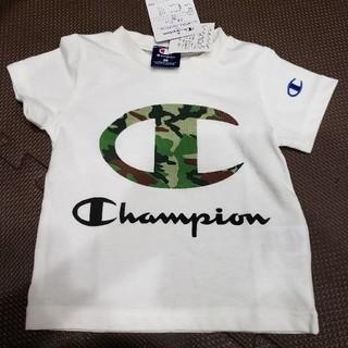 チャンピオン(Champion)の【未使用】Tシャツ チャンピオン 迷彩 80㎝(Tシャツ)