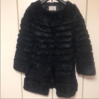 ルシェルブルー(LE CIEL BLEU)のアンシャントマン コート(毛皮/ファーコート)