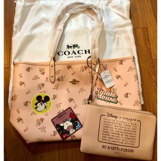 コーチ(COACH)のコーチ COACH ディズニー リバーシブルトートバッグ 新品未使用(トートバッグ)