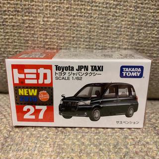 Takara Tomy - 【新品未開封 通常】トミカ トヨタ ジャパンタクシー 27