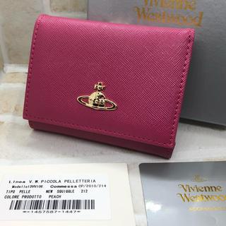 Vivienne Westwood - VivienneWestwood 三つ折り 財布 ピンク 新品未使用