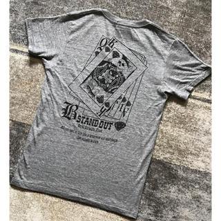 サブサエティ(Subciety)の新品未使用 B-stand out スカル トランプ柄 Tシャツ カットソー(Tシャツ/カットソー(半袖/袖なし))