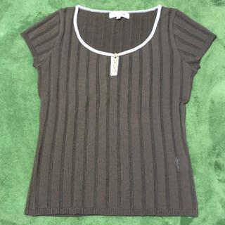 アトリエサブ(ATELIER SAB)のアトリエサブ ニットシャツ(カットソー(半袖/袖なし))