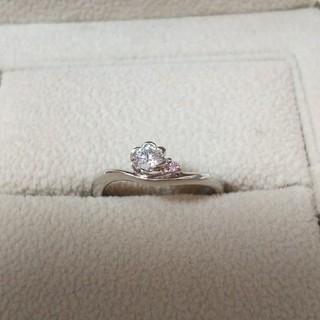 ヨンドシー(4℃)の新品、未使用 トレセンテ 婚約指輪(リング(指輪))