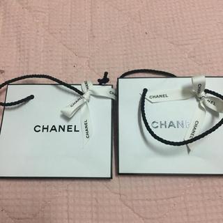 CHANEL - シャネル ショップ袋 ショッパー 小 リボン付き