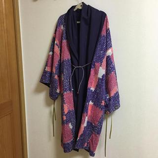 SOU・SOU - 7/24出品取消 SOU・SOU モスリン 宮中袖 袷 濃紫×古代裂