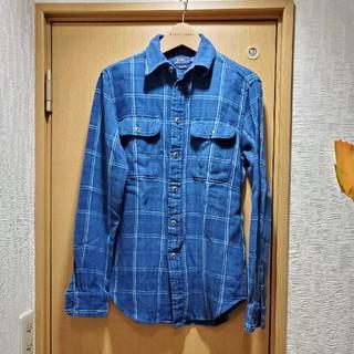 ポロラルフローレン(POLO RALPH LAUREN)のPOLO RALPHLAUREN インディゴチェックシャツ(シャツ/ブラウス(長袖/七分))