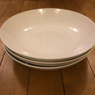 イケア(IKEA)の♥ IKEA 食器 深皿 3枚 セット(食器)