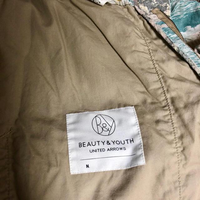 BEAUTY&YOUTH UNITED ARROWS(ビューティアンドユースユナイテッドアローズ)のユナイテッドアローズ ビューティー&ユースアロハ柄ショーツ メンズのパンツ(ショートパンツ)の商品写真