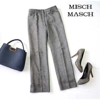 ミッシュマッシュ(MISCH MASCH)のミッシュマッシュ★ウール混 スラックス 小さいサイズ XS グレー ウールパンツ(カジュアルパンツ)