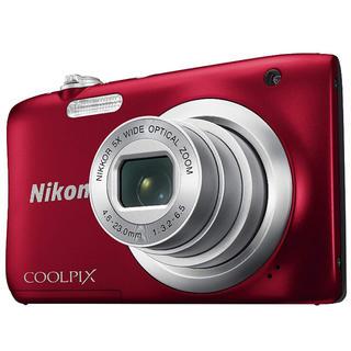 Nixon デジタルカメラ 2005万画素 レッド