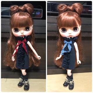 メンズテイストフリルワンピセット(人形)