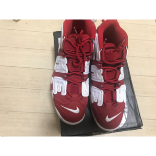 Supreme - Supreme X Nike Air More Uptempo Red27.5