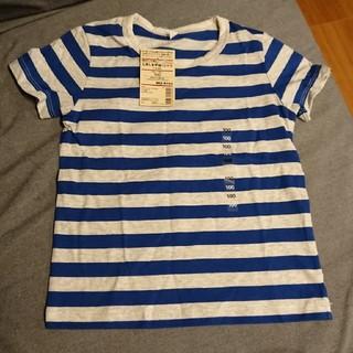ムジルシリョウヒン(MUJI (無印良品))の無印良品 100 しましまTシャツ(Tシャツ/カットソー)