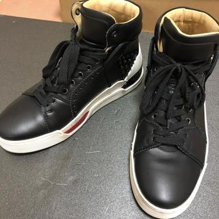 Christian Louboutin - 嵐の大野、二宮着用 ルブタン  靴 スニーカー 25.5 40.5 確実正規品