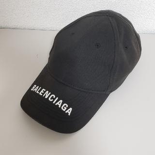 バレンシアガ(Balenciaga)のBALENCIAGA ロゴ ベースボールキャップ(キャップ)