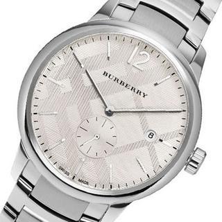 BURBERRY - バーバリー 時計 メンズ 腕時計 クラシック シルバー