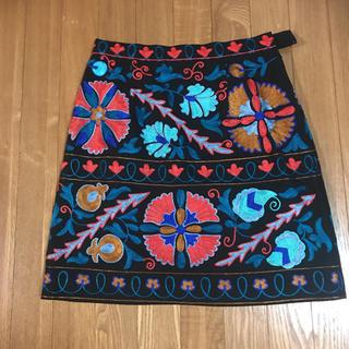 GRACE CONTINENTAL - グレースコンチネンタル 刺繍ミニスカート