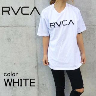 ルーカ(RVCA)のRVCA ロゴTシャツ ユニセックス XSサイズ ルーカ ルカ(Tシャツ/カットソー(半袖/袖なし))