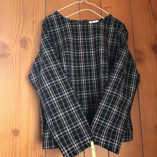 ムジルシリョウヒン(MUJI (無印良品))のcomfort basic チェックチュニック(シャツ/ブラウス(長袖/七分))