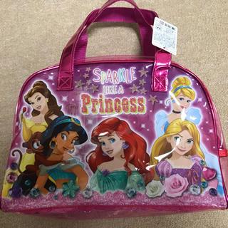 新品 ディズニー プリンセス ボストン型 プールバッグ