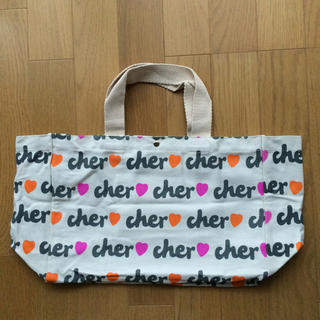 Cher - cher ロゴ入りトートバック 付録