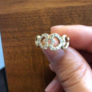 ポンテヴェキオ(PonteVecchio)の美品 ポンテヴェキオ ダイヤハートリング(リング(指輪))