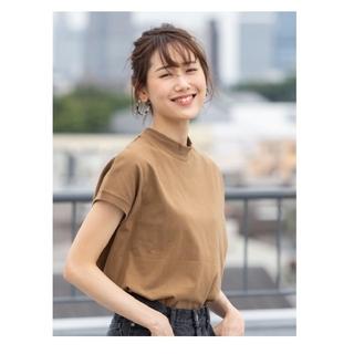 coen - 今季人気商品 coen  USAコットンハイネックTシャツ WEB限定カラー新色