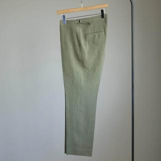 COMOLI - AURALEE washed linen slacks