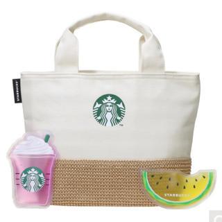 Starbucks Coffee - 【新品・未開封】保冷トート&オリジナル保冷剤