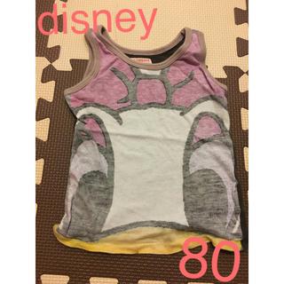 ディズニー(Disney)のdisney ディズニー デイジー ドナルド 80 女の子 タンクトップ(タンクトップ/キャミソール)