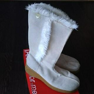 Roxy - ROXY ブーツ 24.5cm   ムートンブーツ 靴 OL スノーブーツ