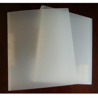 ムジルシリョウヒン(MUJI (無印良品))の無印良品 ポリプロピレン2穴ファイル(パイプ式) A4(ファイル/バインダー)