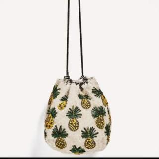 ZARA - パイナップルバッグ