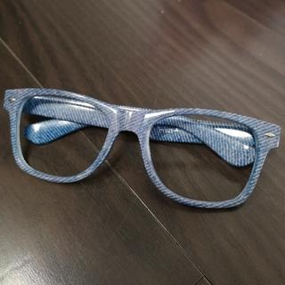 ロデオクラウンズ(RODEO CROWNS)のロデオクラウンズ だて眼鏡 レンズなし メガネケースつき(サングラス/メガネ)