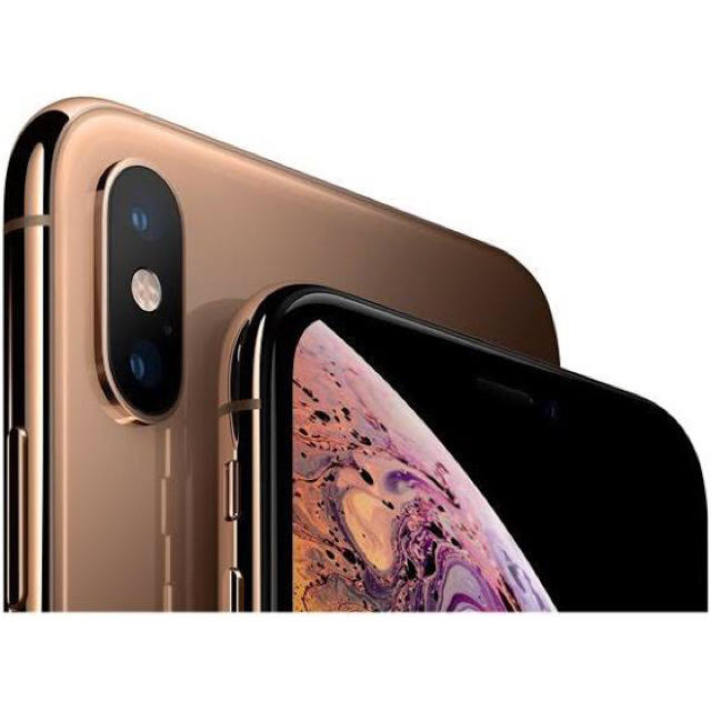 iPhone(アイフォーン)の新品未使用 ◎ iPhone XS ゴールド ◎ 64GB SIMフリー スマホ/家電/カメラのスマートフォン/携帯電話(スマートフォン本体)の商品写真