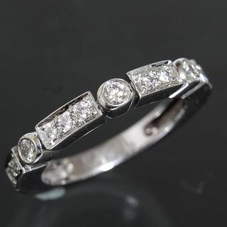 シャネル(CHANEL)のシャネル CHANEL ダイヤモンド 14P リング size48 K18WG (リング(指輪))
