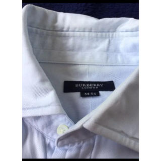 BURBERRY - バーバリー Burberry ワイシャツ 水色 ブルー ビジネスシャツ M