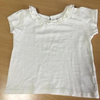 西松屋 - cherokee ベビー キッズ フリル Tシャツ ホワイト 100